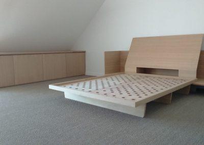 Création de mobilier pour une chambre