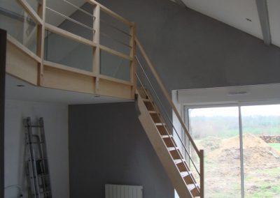 Escalier amovible par Les Sens du Menuiser