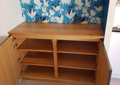 Création d'un meuble de salon