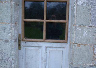 Création de porte d'extérieur par Les Sens du Menuisier