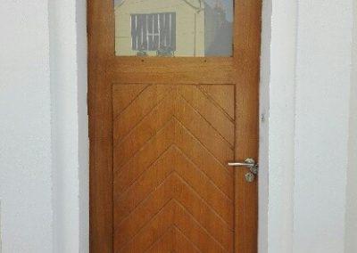 Création de portes d'extérieur