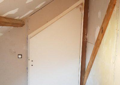 Création de porte sur-mesure par Les Sens du Menuisier