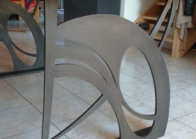 Création d'une table de salon par Les Sens du Menuisier