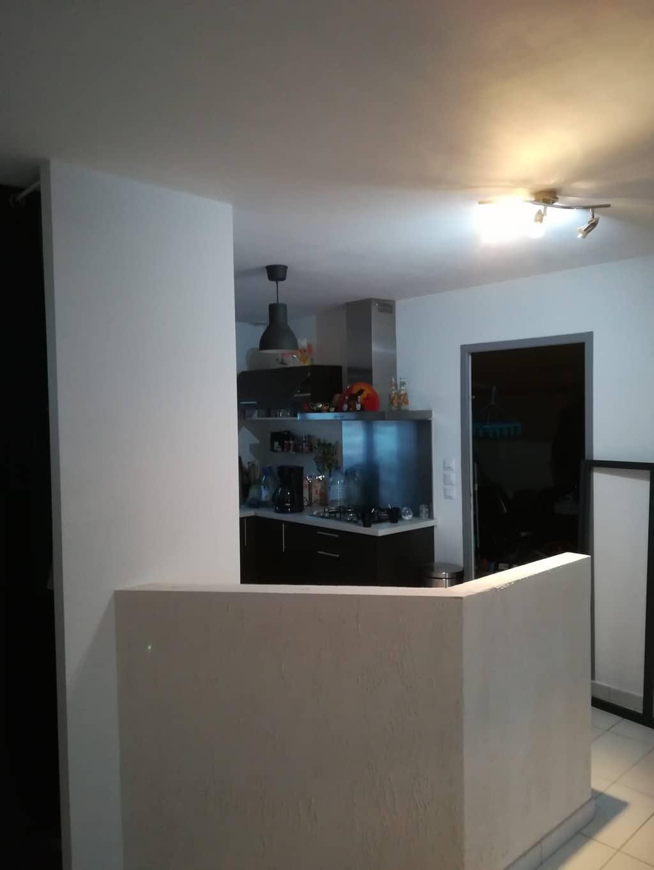 Création d\'une verrière séparatrice cuisine-entrée - Les ...